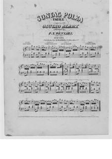 Sontag Polka: Arrangement by P. Y. Densari by Giulio Alary