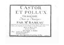 Complete Opera: Partitura completa by Jean-Philippe Rameau