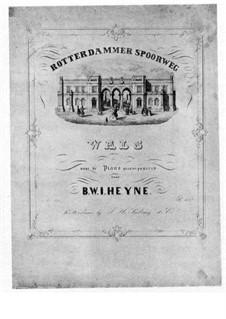 Rotterdam Railway Waltz: Para Piano by B.W.I. Heyne