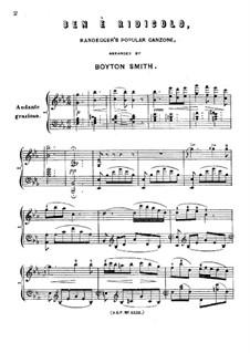 Ben è Ridicolo, No.12: Ben è Ridicolo by Boyton Smith