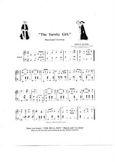 Varsity Girl: Varsity Girl by Fred T. Ashton