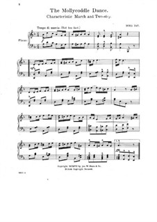 The Mollycoddle Dance. Characteristic March and Two-Step for Piano: The Mollycoddle Dance. Characteristic March and Two-Step for Piano by Dora Day
