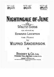 Nightingale of June: Nightingale of June by Wilfrid Sanderson