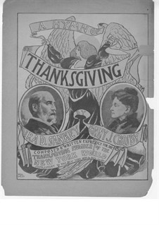 A Hymn of Thanksgiving: partituras de vocais by Ira David Sankey