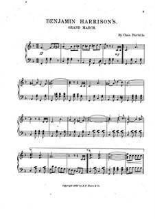 Benjamin Harrison's: Benjamin Harrison's by Chas. Partello