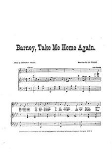 Barney, Take Me Home Again: Barney, Take Me Home Again by George W. Persley