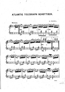 Atlantic Telegraph Schottisch: Atlantic Telegraph Schottisch by Adrien Talexy