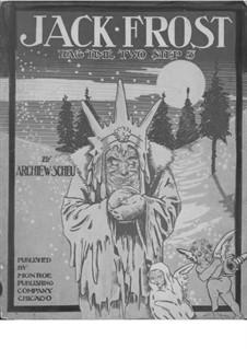 Jack Frost: Jack Frost by Archie W. Scheu