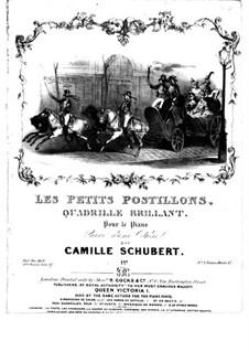 Les petits postillons: Les petits postillons by Camille Schubert