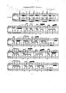 Impromptu-Polka for Piano, Op.33: Impromptu-Polka for Piano by Julius Schulhoff