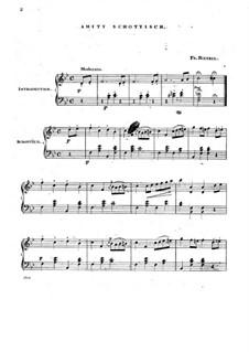 Amity Schottisch for Piano: Amity Schottisch for Piano by Fr. Rietzel