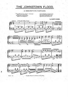 The Johnstown Flood. Descriptive Fantasia for Piano: The Johnstown Flood. Descriptive Fantasia for Piano by Alberto Rivieri