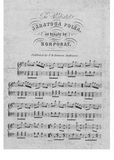 The Celebrated Saratoga Polka: The Celebrated Saratoga Polka by Unknown (works before 1850)