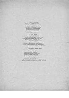 La Colomba (The Dove): Para vocais e piano by folklore
