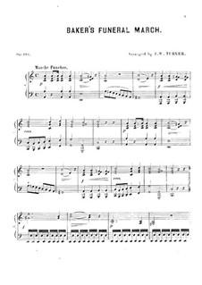 Baker's Funeral March: Baker's Funeral March by Joseph W. Turner