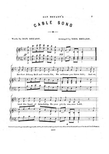 Cable Song: Cable Song by John Rogers Thomas