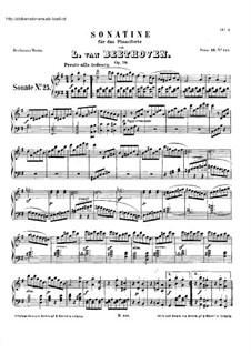 Sonatas for Piano (Selected): Eight Sonatas, Op.79, 81, 90, 101, 106, 109-111 by Ludwig van Beethoven