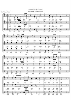 Winterreise, Op.23: Nr.24 Der Leiermann by Werner Schneider-Wiegand
