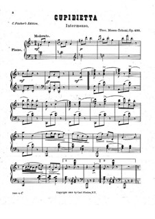 Cupidietta, Op.422: Cupidietta by Theodore Moses Tobani