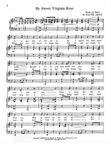 My Sweet Virginia Rose: My Sweet Virginia Rose by Walter Smith