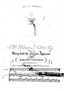 Buy a Broom: Partitura Piano-vocal by Unknown (works before 1850)