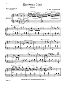 Edelweiss Glide: Para Piano by F. E. Vanderbeck