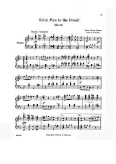 Solid Men to the Front: Solid Men to the Front by John Philip Sousa