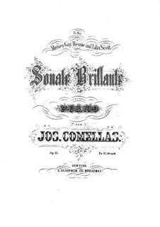 Sonata Brilliant in G Minor, Op.21: Sonata Brilliant in G Minor by Joseph Comellas