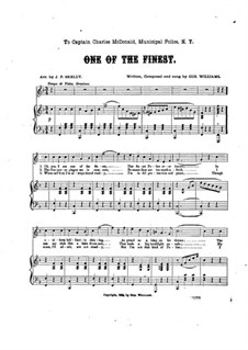 One of the Finest: One of the Finest by Gus Williams