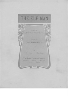 The Elf-Man: para voz baixa e piano by Jack Wells