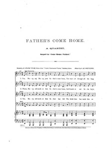 Father's Come Home: Father's Come Home by S. K. Whiting