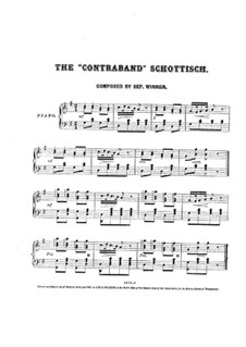 The Contraband for Piano: The Contraband for Piano by Septimus Winner