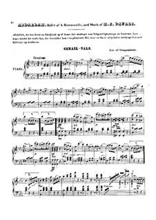 Abgallah: Serail-Valse, for Piano by Holger Simon Paulli
