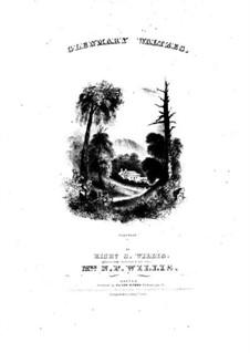 Glenmary Waltzes: Glenmary Waltzes by Richard Storrs Willis