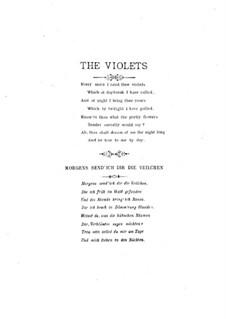 Violets: Violets by Ellen Riley Wright
