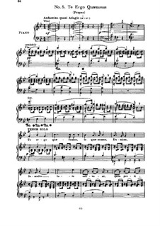 Te Deum, H.118 Op.22: No.5-7, for soloist, triple choirs and piano by Hector Berlioz
