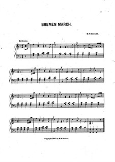 Bremen March: Bremen March by M. W. Becker