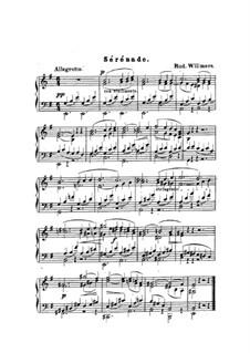 Serenade in E Minor: Serenade in E Minor by Heinrich Rudolph Willmers