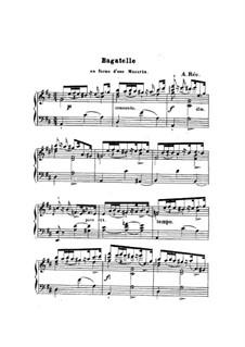 Bagatelle: Bagatelle by Anton Rée