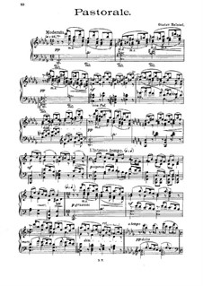 Pastorale for Piano: Pastorale for Piano by Gustav Helsted