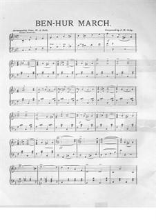 Ben-Hur March: Para Piano by J. H. Cody