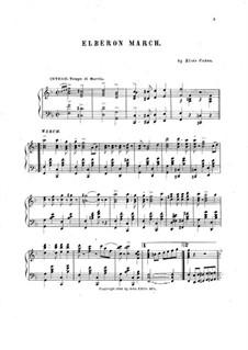 Elberon March: Elberon March by Elsie Cohen