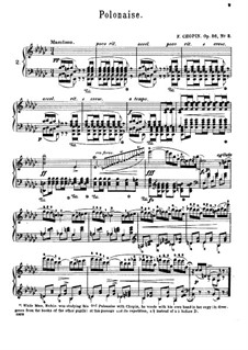 Polonaises, Op.26: No.2 in E Flat Minor by Frédéric Chopin