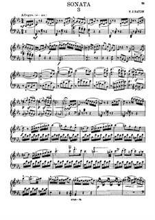 Sonata for Piano No.59 in E Flat Major, Hob.XVI/49: para dedilhado by Joseph Haydn