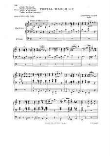 Festal March, Op.80: Festal March by John Baptiste Calkin