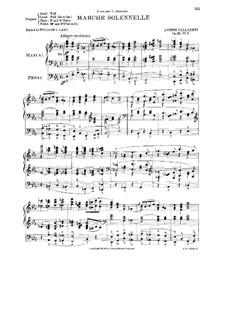 Marche Solennelle, Op.20 No.3: Marche Solennelle by Joseph Callaerts