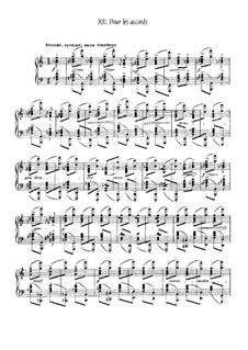 Etudes, L.136: No.12 Pour les accords by Claude Debussy