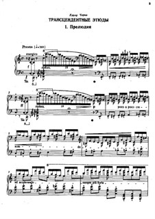 Études d'exécution transcendante, S.139: set completo by Franz Liszt