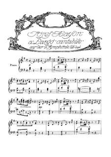 Symphony No.93 in D Major, Hob.I/93: movimento II, versão para piano by Joseph Haydn