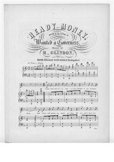 Ready Money: Ready Money by R. Glindon